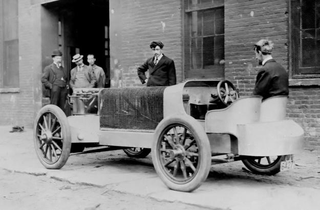 Christie 1904 racer