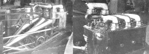 Christie 1905 racer engine