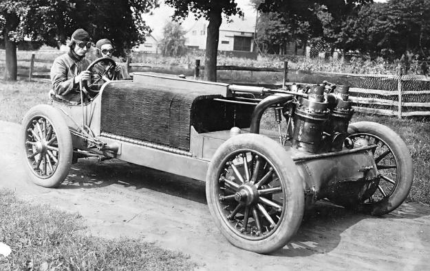 Christie 1906 V-4 Strang Vanderbilt