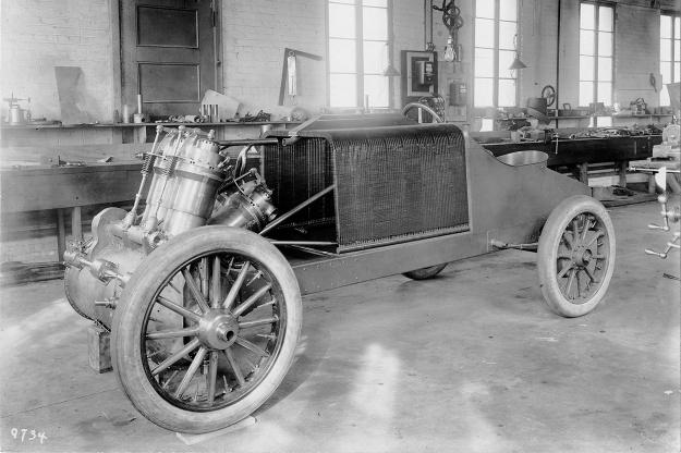 Christie 1907 V-4 build