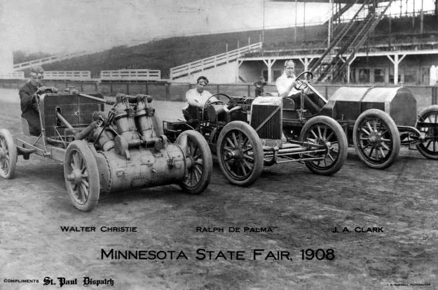 Christie 1907 V-4 DePalma Clark