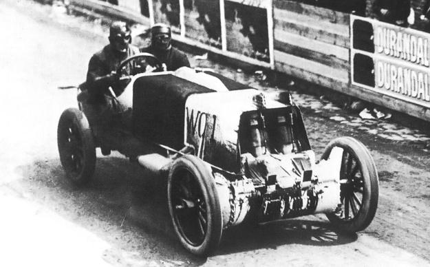 Christie 1907 V-4 French Grand Prix