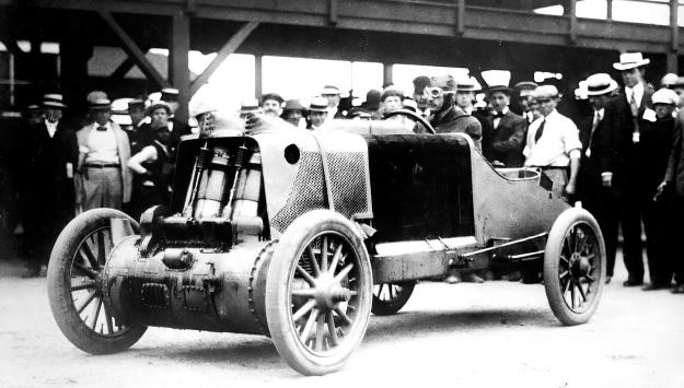 Christie 1907 V-4 GP racer