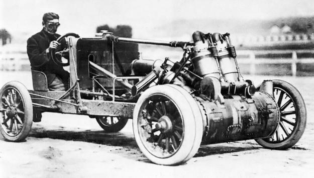 Christie 1907 V-4 late track