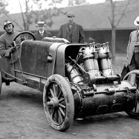 Christie V-4 Engine 1907 Racer