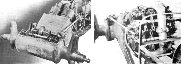 Christie 1909 V-4 racer details