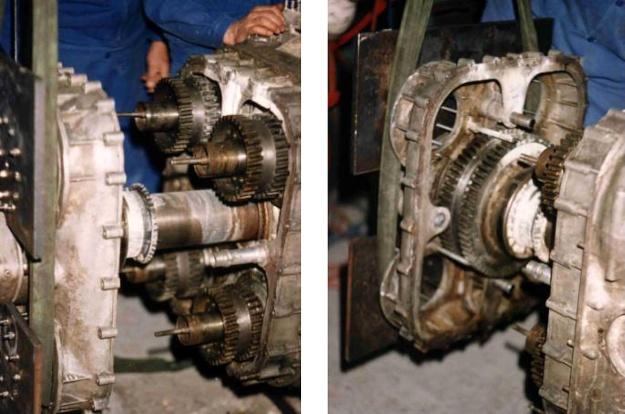 Breguet-Bugatti 32B gear drive