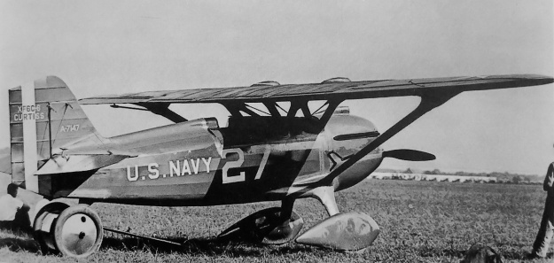 Curtiss XF6C-6 Page Navy Racer rear scoop