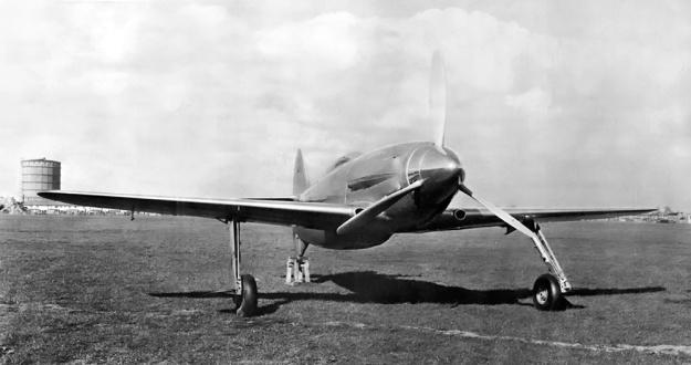 Napier-Heston Racer front 3-4