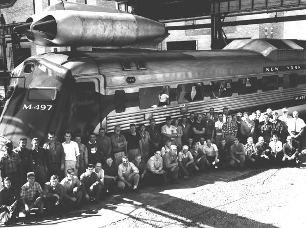 NYC M-497 crew