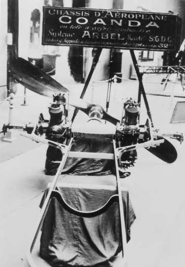 Coanda 1911 Monoplane engines
