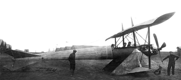 Coanda 1911 Monoplane extensions