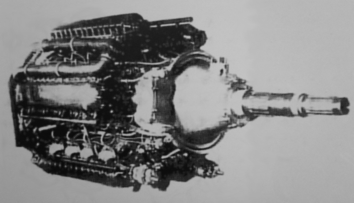 Dobrynin M-250, VD-3TK, and VD-4K Aircraft Engines   Old