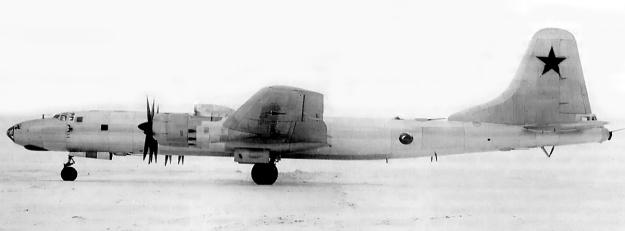 Tupolev Tu-85 side