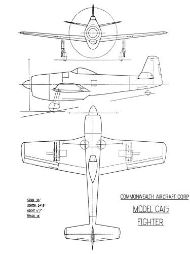 CAC CA-15 R-2800-57