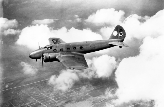 Roscoe Turner Boeing 247 1934