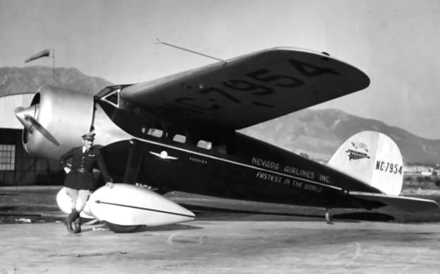 Roscoe Turner Lockheed Vega 1929