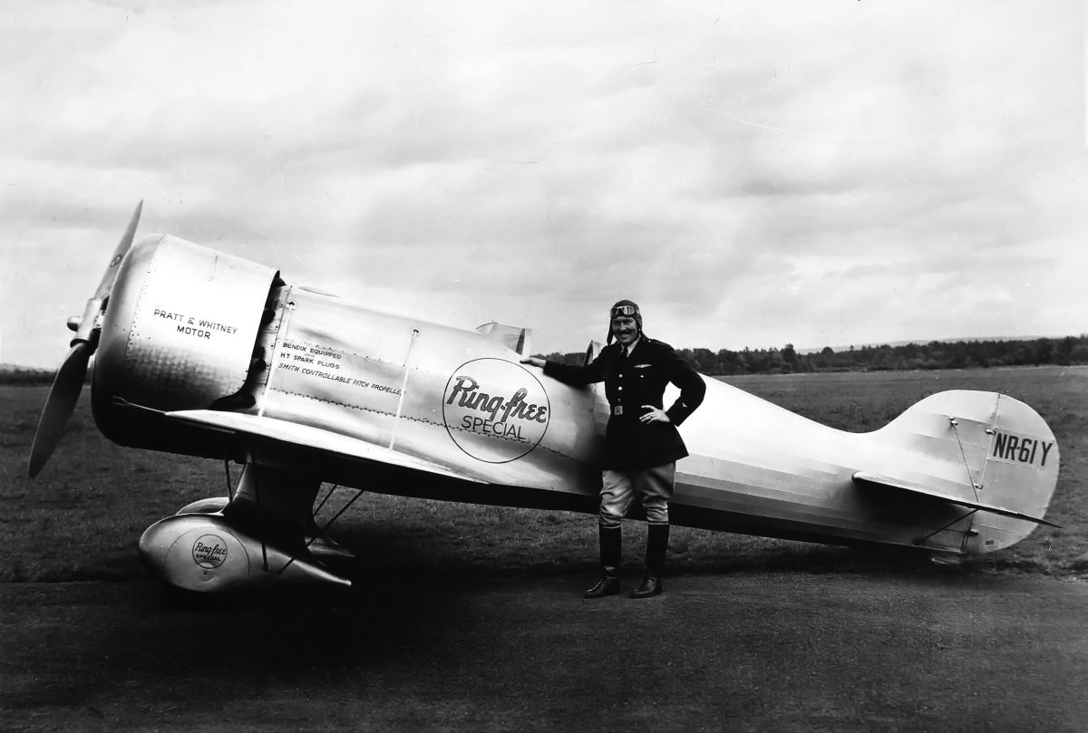 Air Racing Was Like This – by Roscoe Turner | Old Machine ...