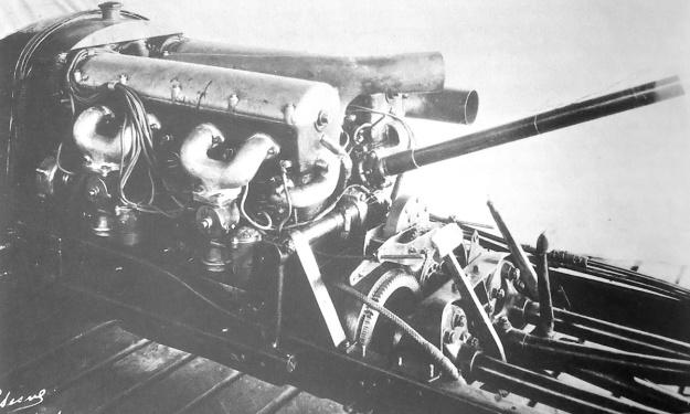 Duesenberg Milton LSR Daytona Engines