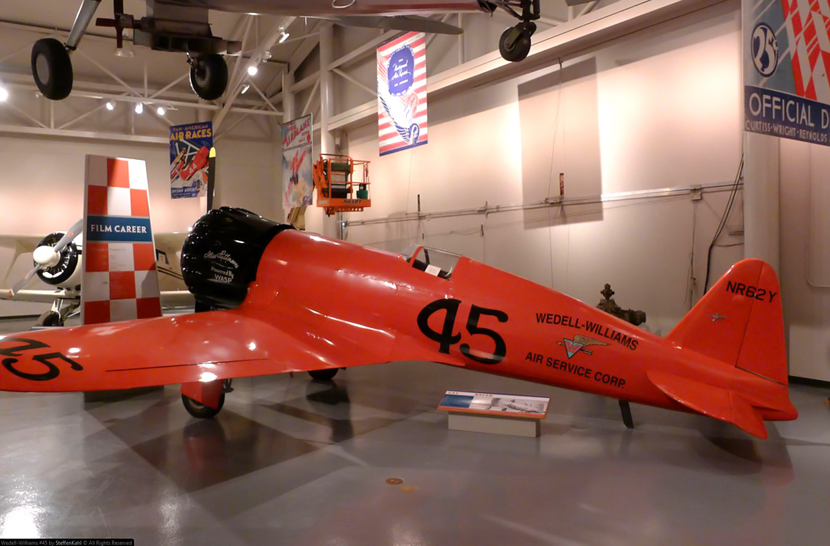 11 thoughts on the golden age of the national air races - Wedell Williams Model 45 Replica