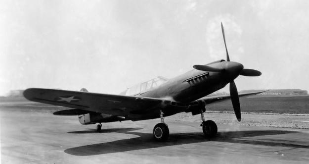 Curtiss XP-40Q-1 front