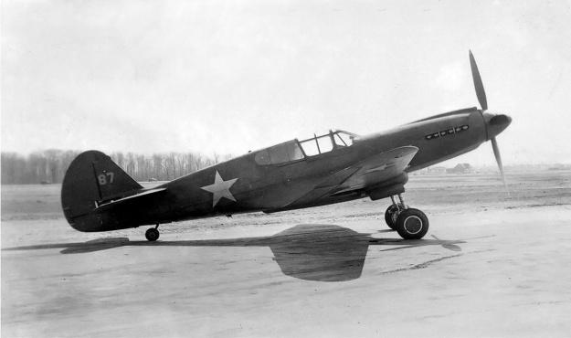 Curtiss XP-40Q-1