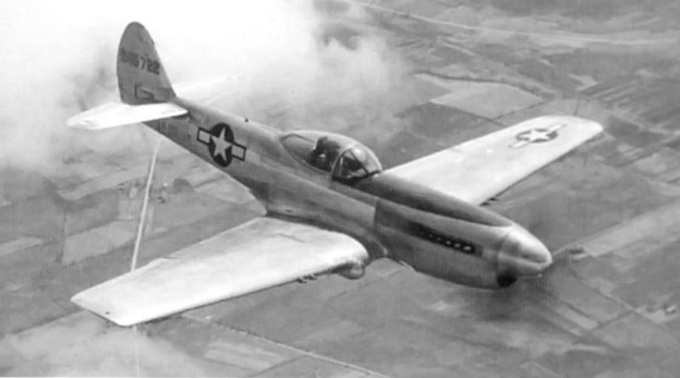 Curtiss XP-40Q-2A flight