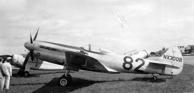 Curtiss XP-40Q-2A Race 82