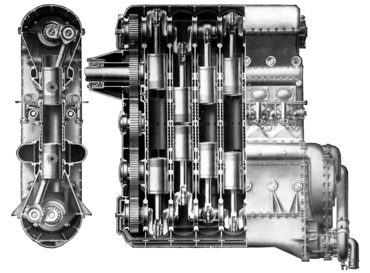 engine piston diagram