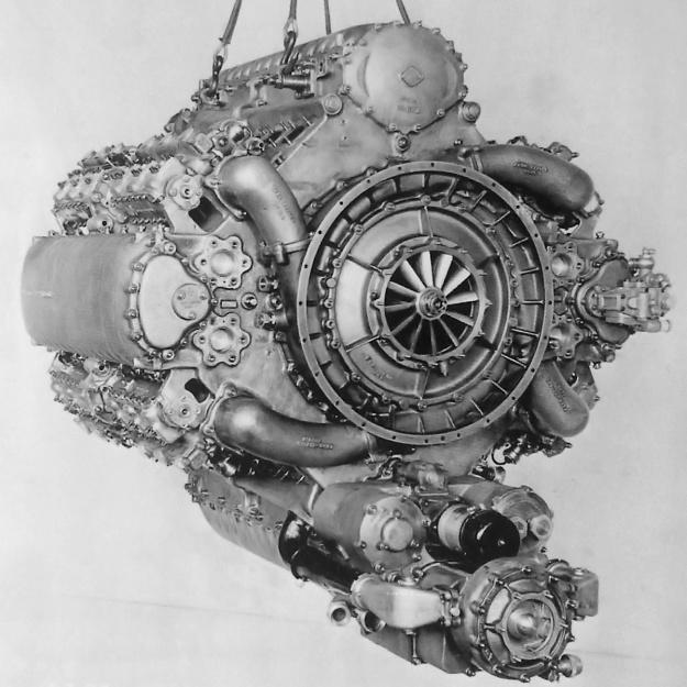 Junkers Jumo 223 rear