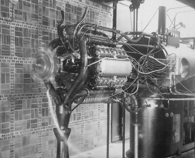 Junkers Jumo 223 test run
