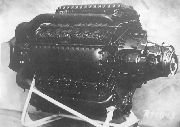 Junkers Jumo 223 with turbo