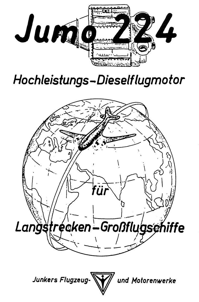 Diesel Engines Old Machine Press Page 2 Diagram Likewise Turbo Intercooler As Well Carrier Water Junkers Jumo 224 Advert