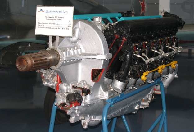 Klimov VK-107A engine