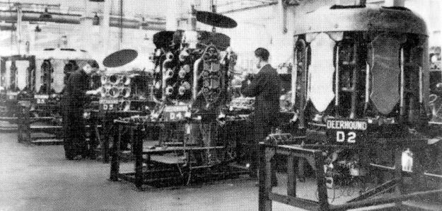 Armstrong Siddeley Deerhound construction