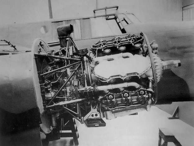 Deerhound II engine Whitley