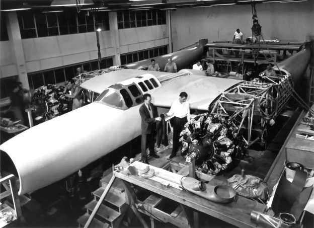 Hughes D-2 construction 1