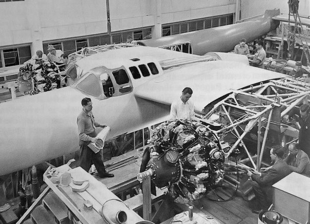 Hughes D-2 construction 2
