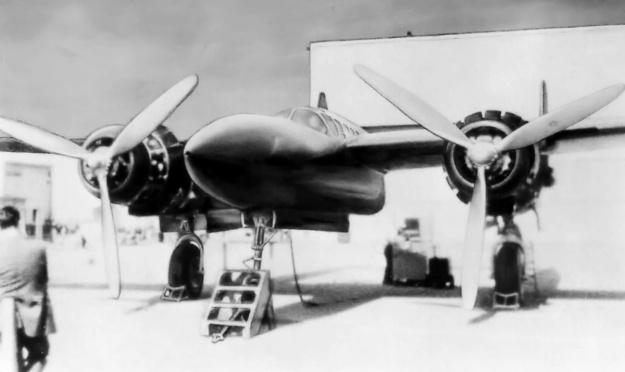 Hughes D-2 HDL front