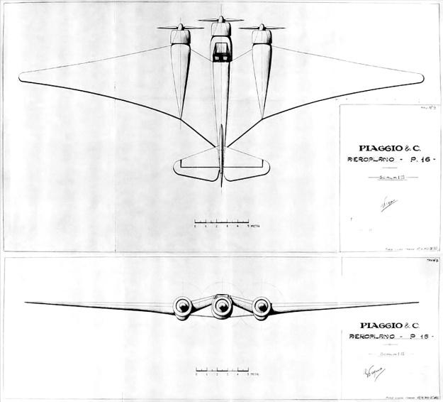 Piaggio P16 1932