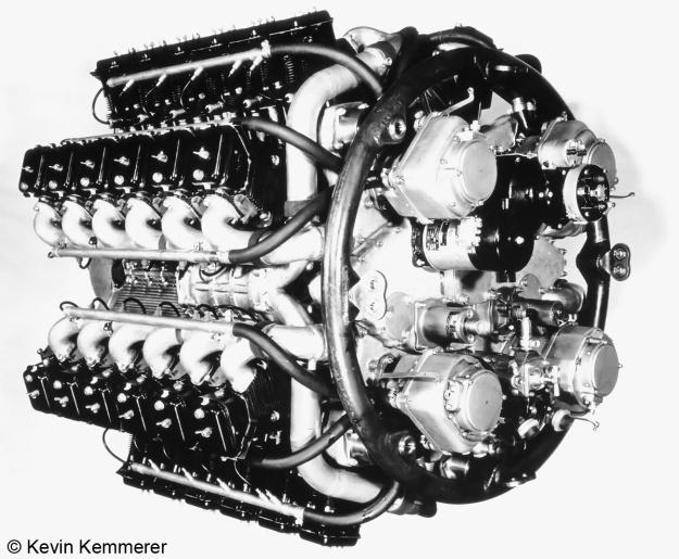 FKFS Gruppen-Flugmotor A complete copy