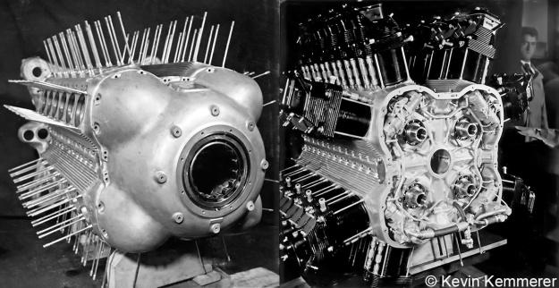 FKFS Gruppen-Flugmotor A crankcase copy
