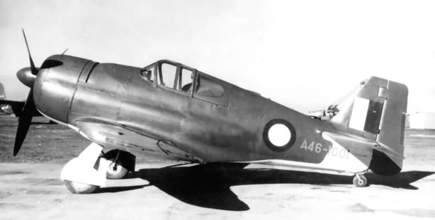 CAC CA-14A left side