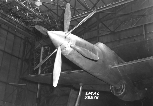 Republic XP-69 nose