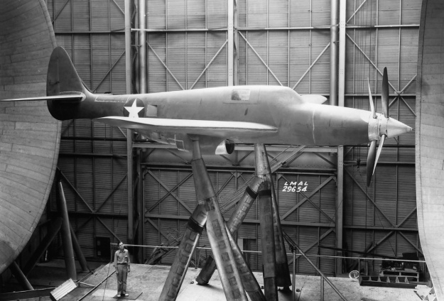 Republic XP-69 side