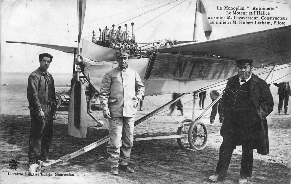 Antoinette (Levavasseur) Aircraft Engines | Old Machine Press