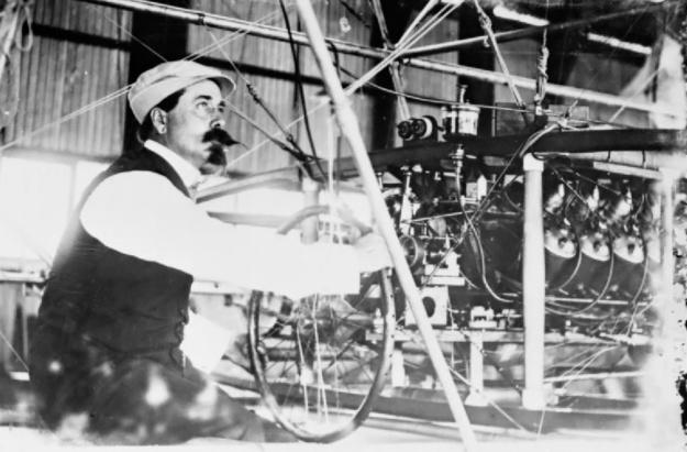 Cody Antoinette 50hp V-8 Nulli Secundus 1907