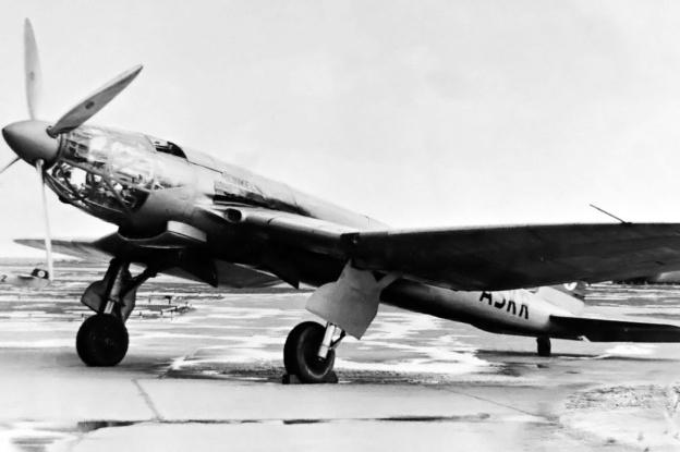 Heinkel He 119 V4 front