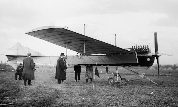 Latham Antoinette VII 100hp V-16 NY 1910