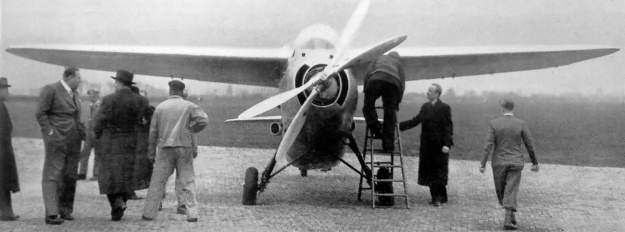 Koolhoven FK55 prototype front